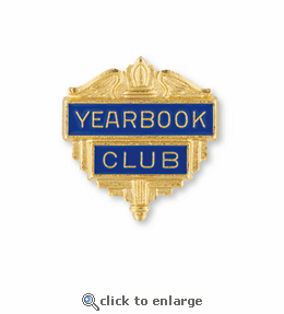 No. 200 English & Language Arts Club Pin