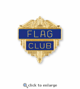 No. 200 Foreign Language Club Pin