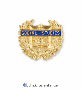 No. 320 Social Science & Social Studies Pin