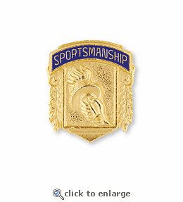 No. 324 Sportsmanship Pin
