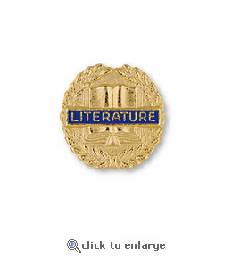 No. 355 Literature Pin