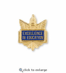 No. 446 Student Librarian Pin