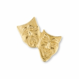 No. 493 Drama Masks Pin