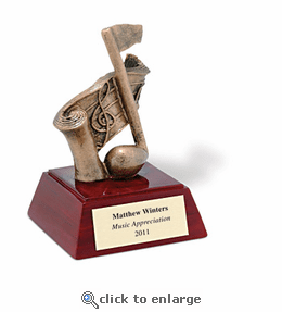 No. 9072 Music Note Figure