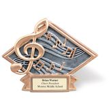No. 9078 Diamond Music Note Figure