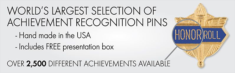 World's Largest Selection of Achievement Recognition Pins. Shop Pins.