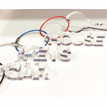 acrylic lucite keychains
