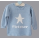 baby boy star sweater