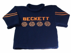 basketball sports name sweater