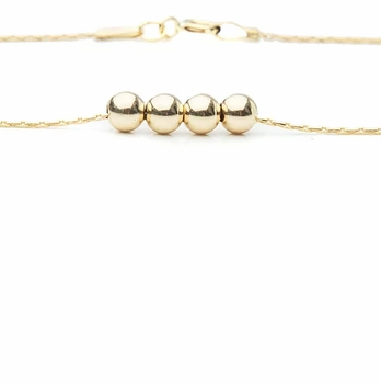 gold dream necklace