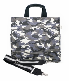 grey camouflage NS tote
