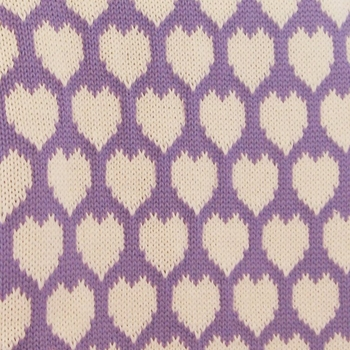 hearts baby blanket (several colors available)
