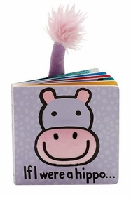 If I Were a Hippo Book by Jellycat