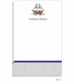 personalized - ahoy matey notepad