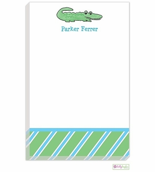 personalized - alligator alley notepad
