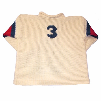 personalized baseball sweater