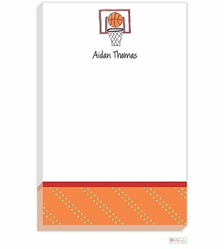 personalized - basketball star notepad