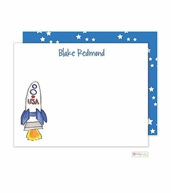 personalized - blast off flat notes