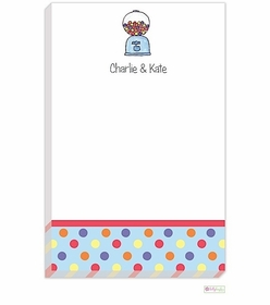 personalized - bubblegum notepad