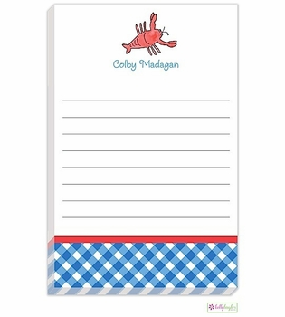 personalized - catch of the day notepad