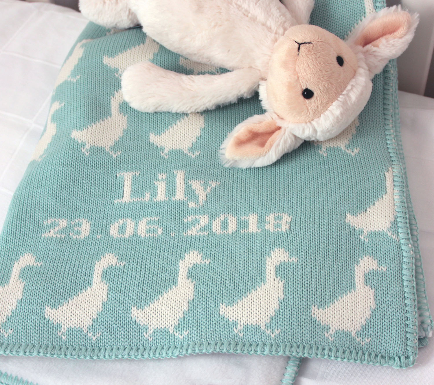 Personalized Duck Baby Blanket Featured At Babybox Com