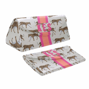 Personalized Eyeglass case - Tiger
