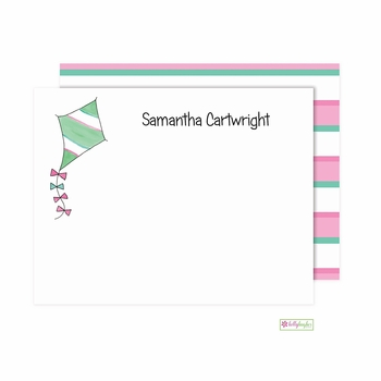 personalized - go fly a kite flat notes