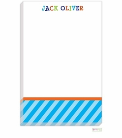 personalized - jack oliver over the rainbow notepad