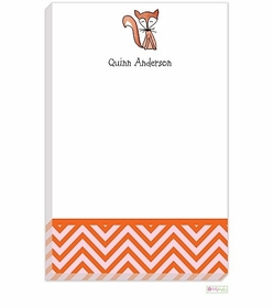 personalized - just foxy notepad