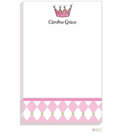 personalized - little princess notepad