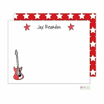 personalized - rock star flat notes