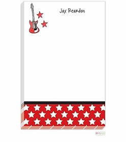 personalized - rock star notepad