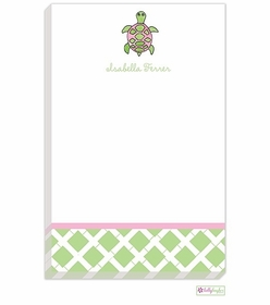 personalized - sea turtle notepad
