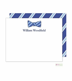 personalized - sir bowtie flat notes