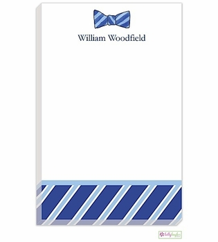 personalized - sir bowtie notepad