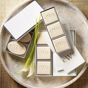 personalized soaps and candles