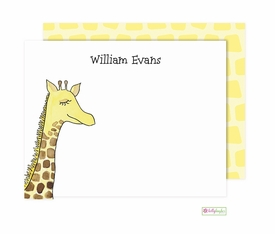 personalized - spot the giraffe flat notes