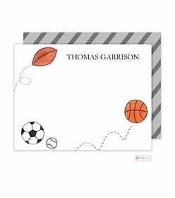 personalized - star athlete flat notes