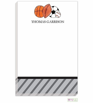 personalized - star athlete notepad
