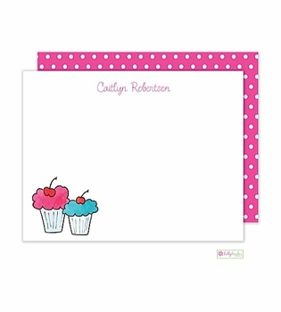 personalized - sweet treat flat notes