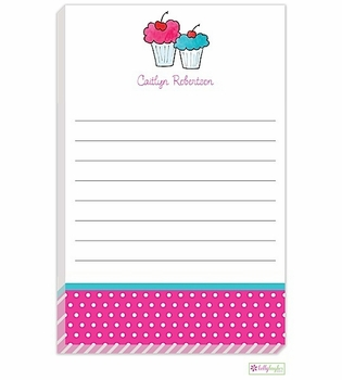 personalized - sweet treats notepad