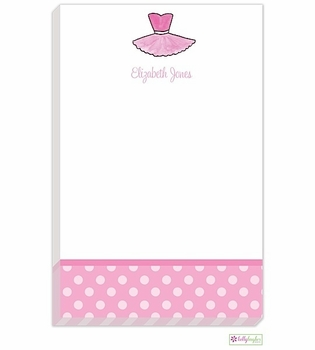 personalized - tutu cute notepad