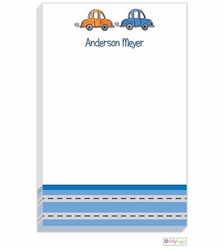 personalized - vroom vroom notepad
