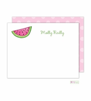 personalized - watermelon flat notes