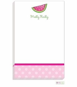 personalized - watermelon notepad