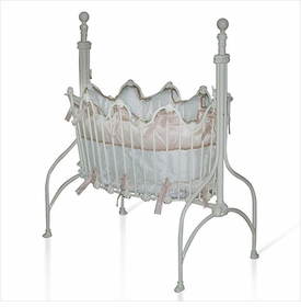 Scalloped Oval Cradle