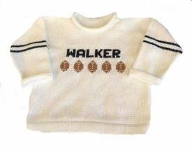 touchdown football sweater