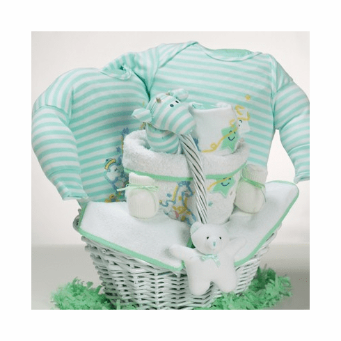 Baby Catch-A-Star Gift Basket for Baby