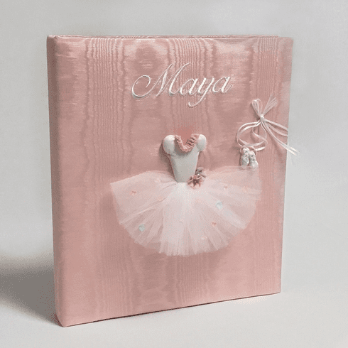 Ballerina Personalized Baby Memory Book
