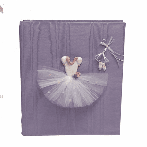 Ballerina Personalized Baby Photo Album - Large - Ring Bound